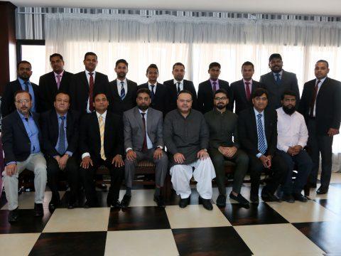Sales Convention of Srilankan Team